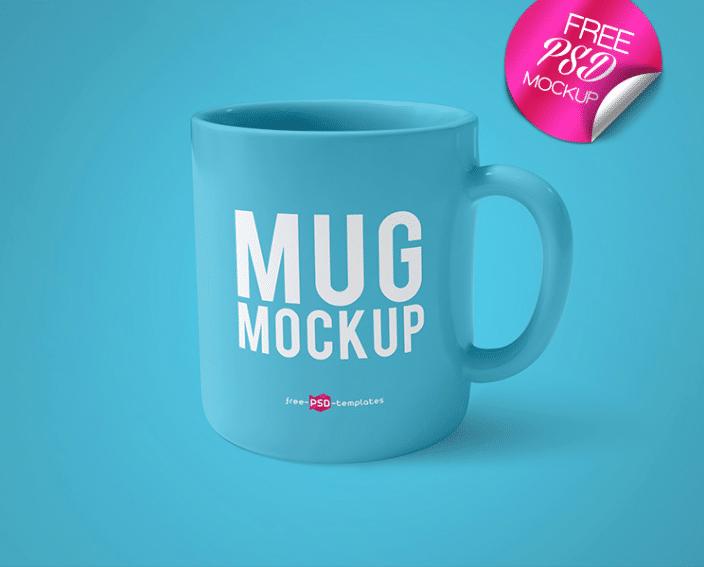 Mug Mockup PSD Template Design