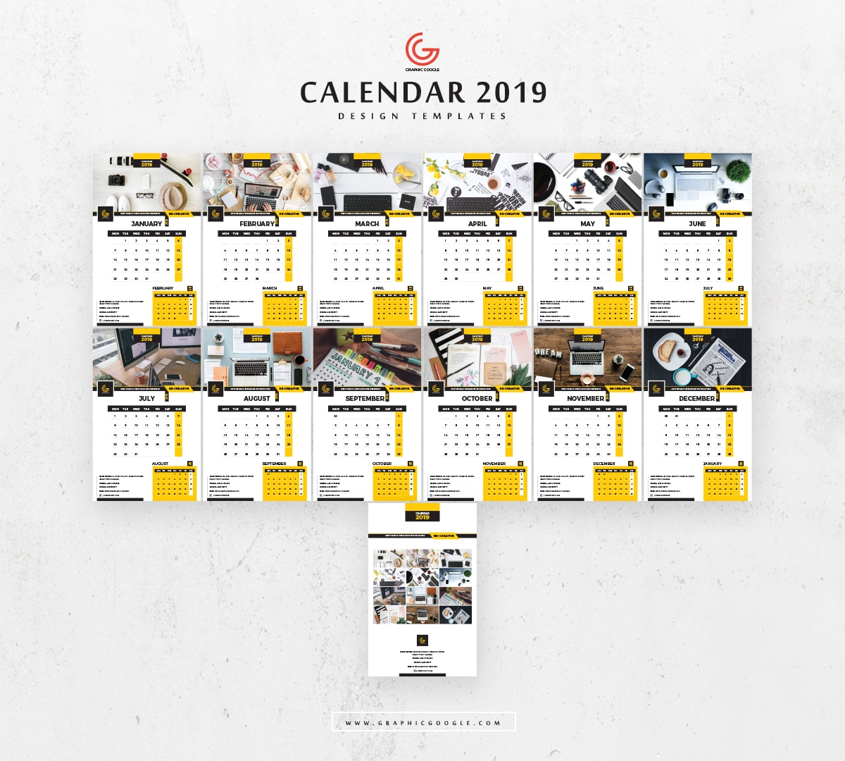 Calendar Design Free Download : Calendar psd mockup download for free designhooks