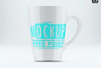 High-resolution Coffee Mug PSD Mockup for Free
