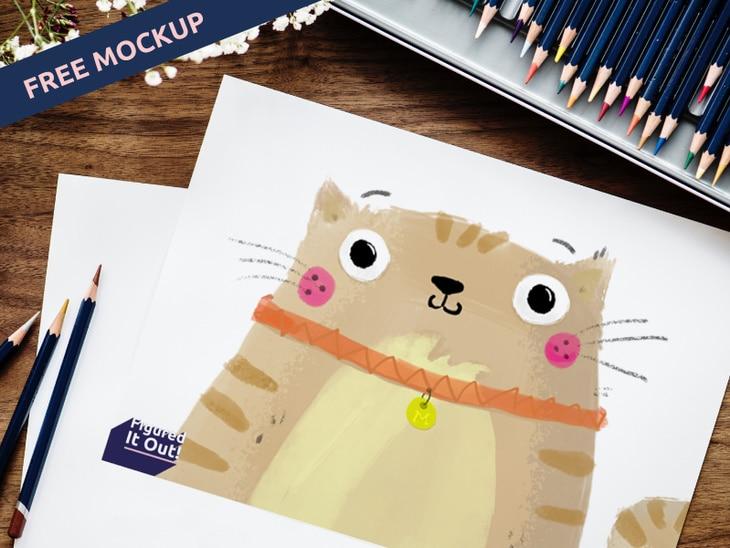 Cute Artbook Sketch