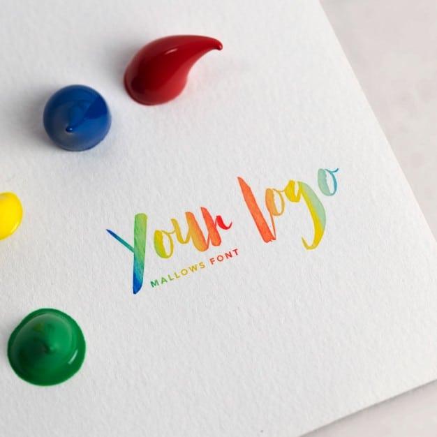 Artistic Logo Plus Paper