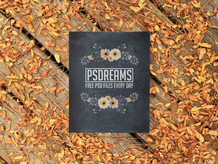 Autumn Scene Plus Card