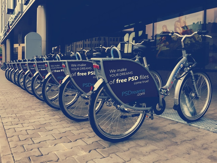 Modern Bicycle Advertising