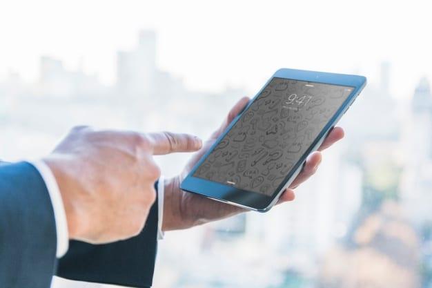Businessman Plus Tablet
