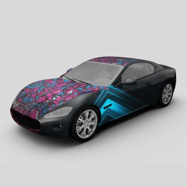 Modern Aston Martin Car
