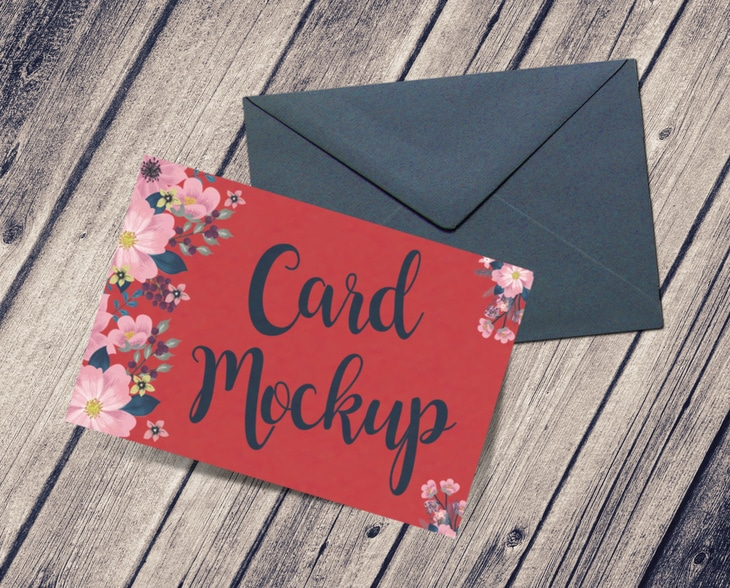 Greeting Card Plus Envelope