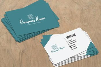Free Business Card PSD Mockup for Commercial Purpose
