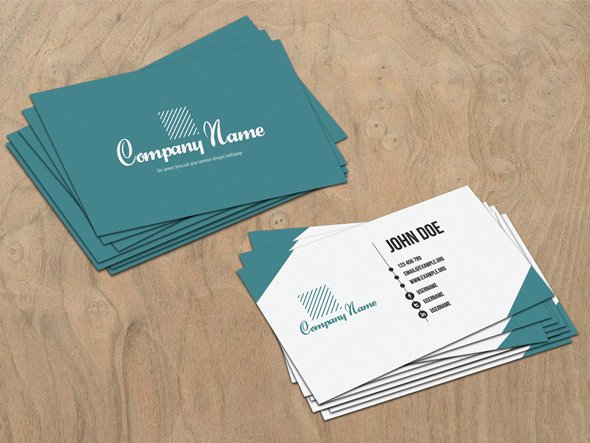 Free Business Card PSD File