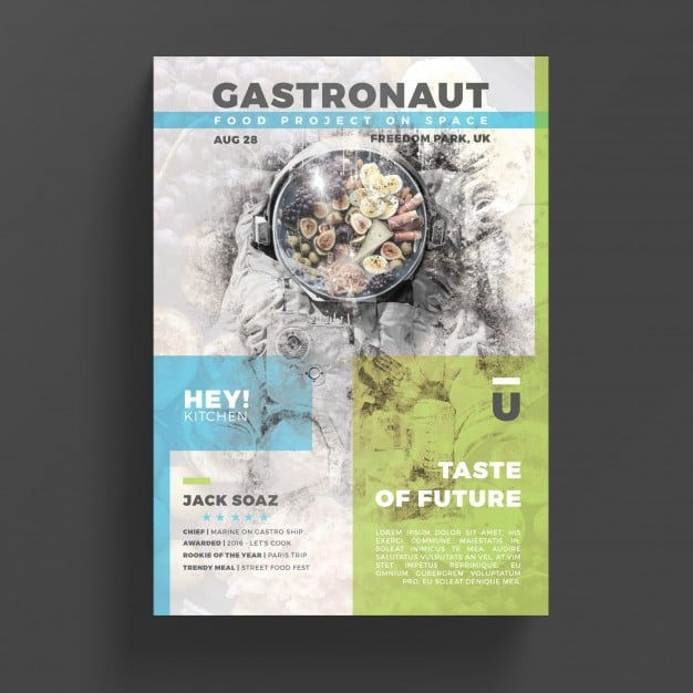 Creative Gastronomy Flyer