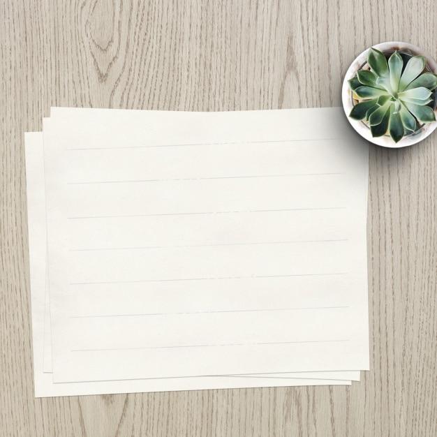 Empty Paper Concept