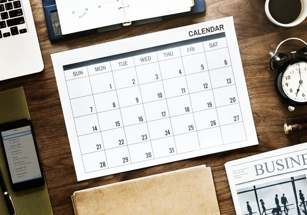 Business Agenda Plus Calendar