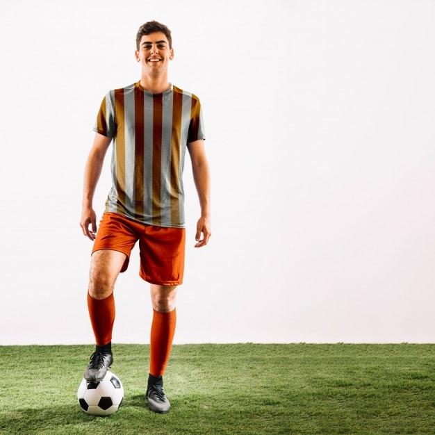 Football Player Scene