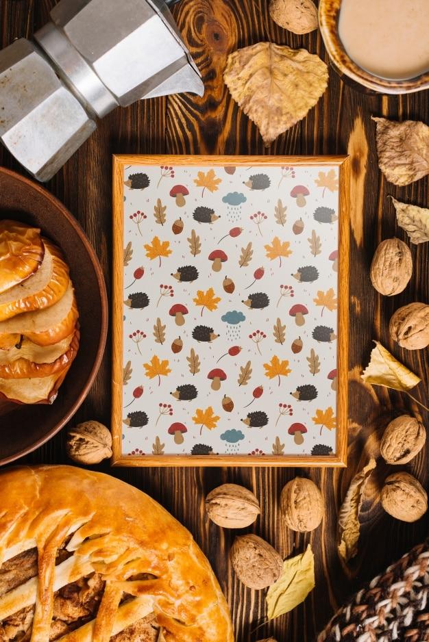 Frame Plus Autumn Food