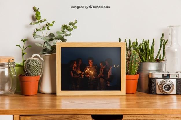 Small Frame Plus Plants