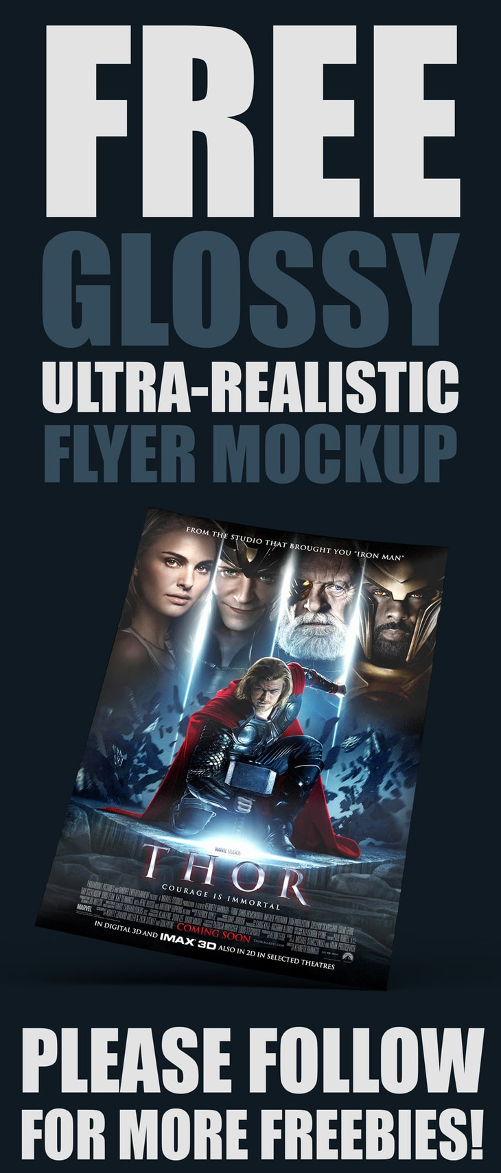Glossy Realistic Flyer