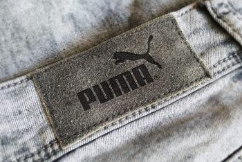 Free Jeans Label Mockup