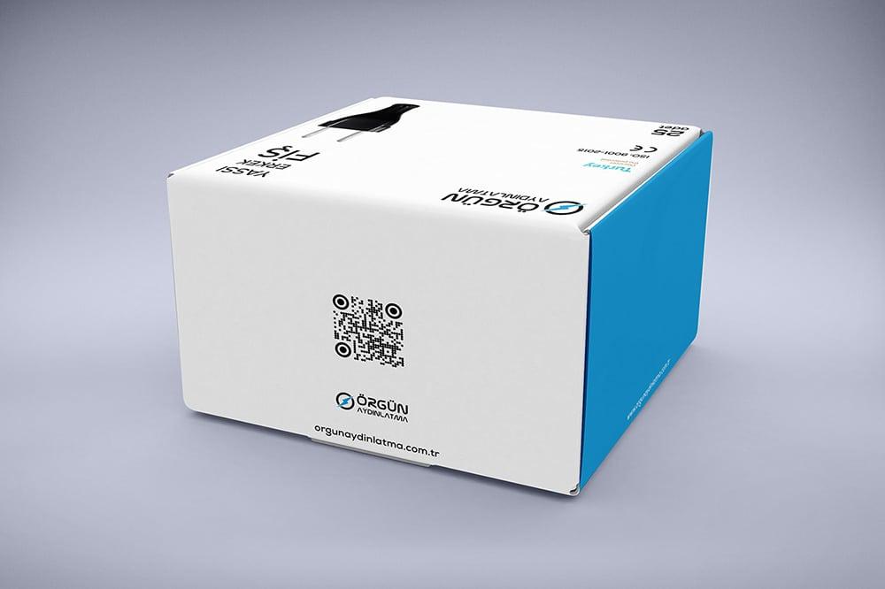 free box packaging mockup