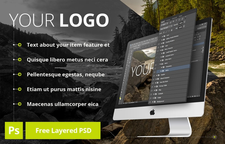 Layered iMac Design