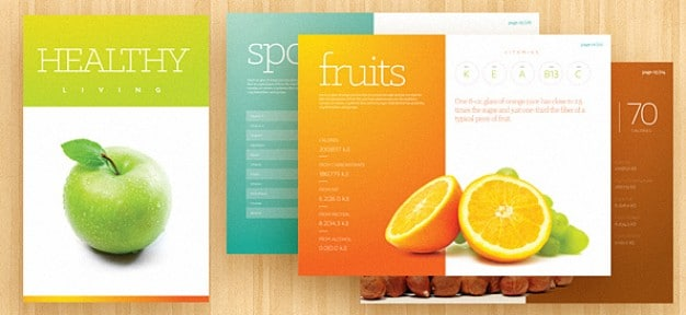 Fresh Fruits Brochure
