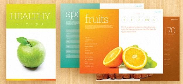 Fresh Fruits Brochure