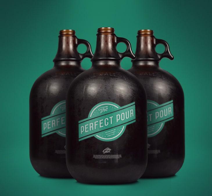 Gallon Growler Bottles