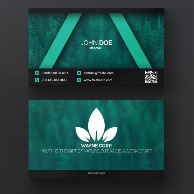 Green Clean Business Card