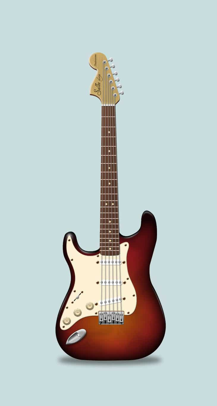 Realistic Electric Guitar