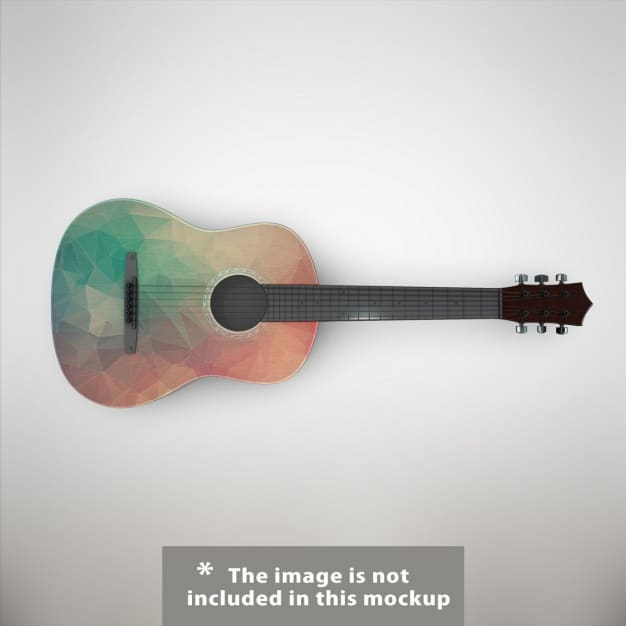 Stylish Acoustic Guitar
