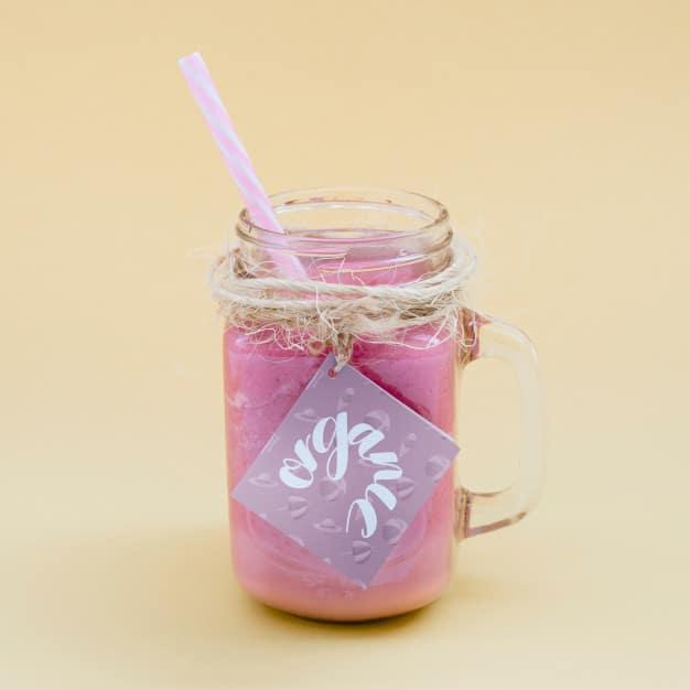 Jar Plus Pink Yogurt Drink