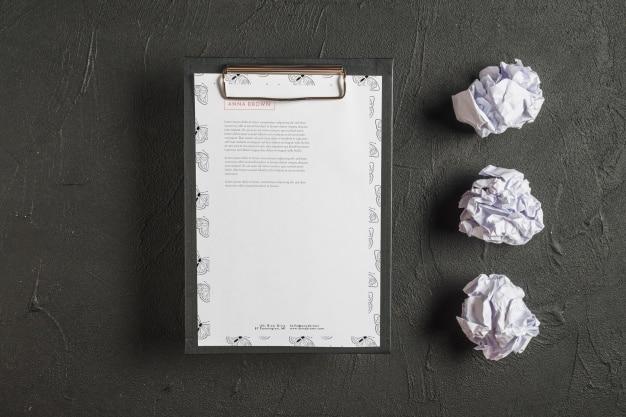 Letterhead Plus Clipboard