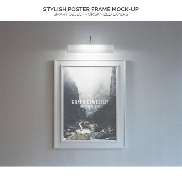Poster Frame Plus Light