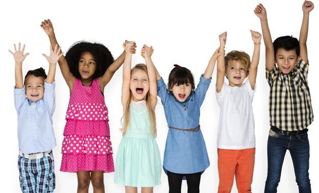 Happy Children Scene