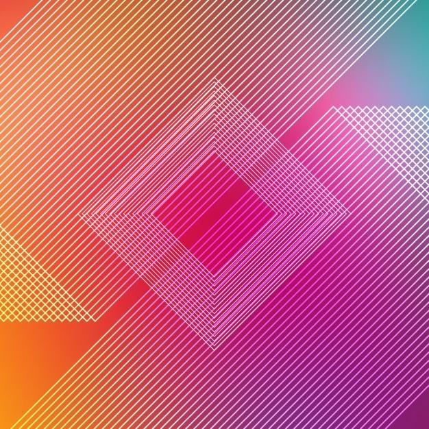 Multicolor Stripes Background