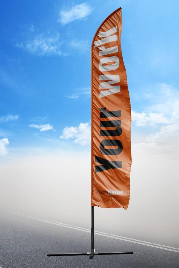 Vertical Beach Flag