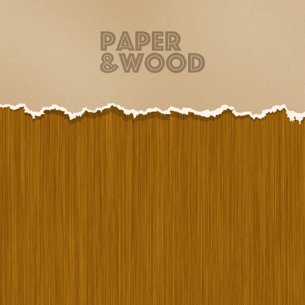 Paper Plus Wood Background
