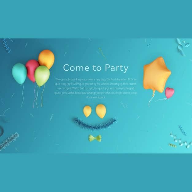 Party Scene Design