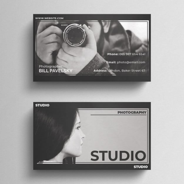 Dramatic Photography Business Card