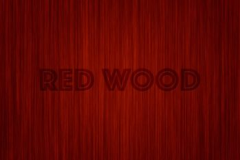 Free Red Wood Background Design Mockup in PSD