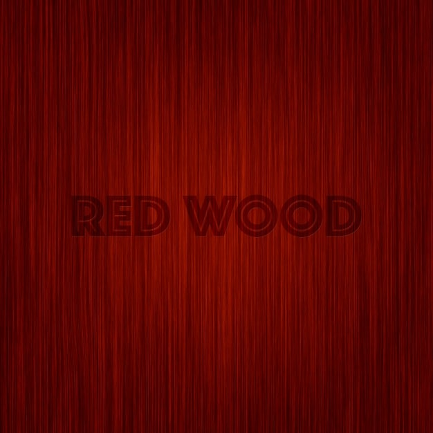 Red Wood Background Design