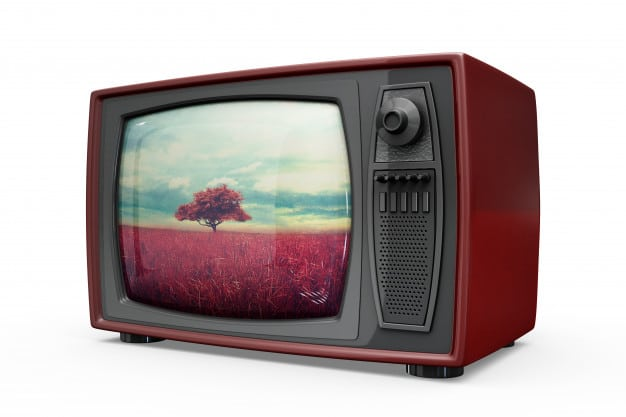 Shiny Retro Television