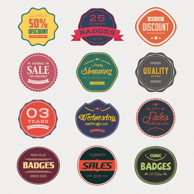 Sale Badge Collection