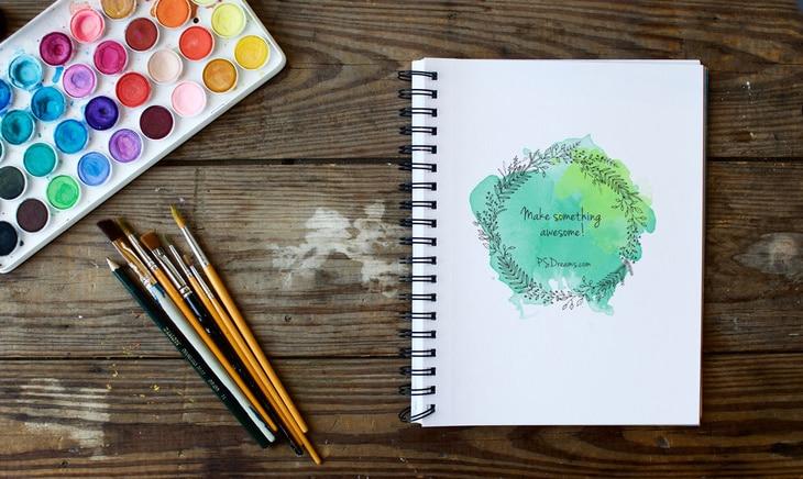 Spiral Sketchbook Plus Watercolor
