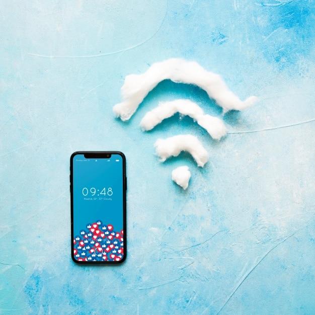 Smartphone Wifi Scene