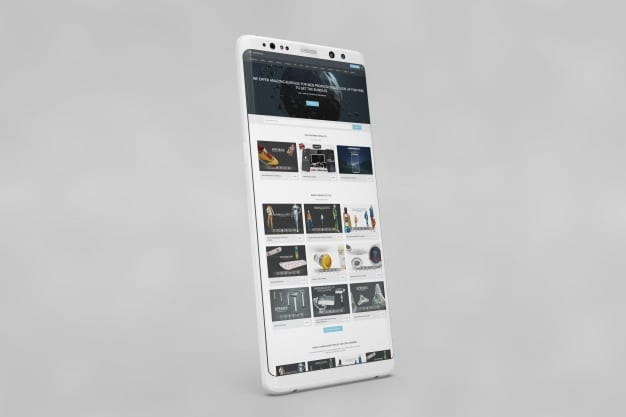 Awesome White Smartphone