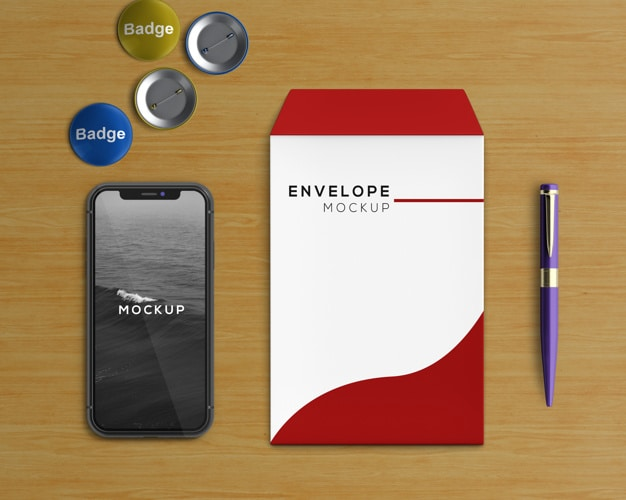 Smartphone Plus Stationery Envelope
