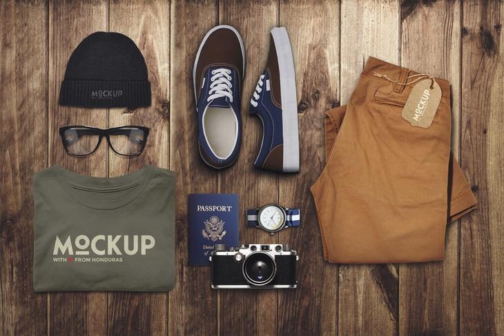 Travel Clothes Scene