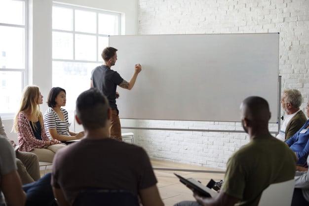 Seminar Scene Plus White Board