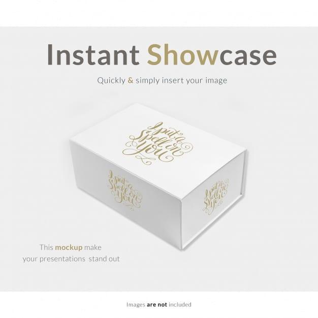 Elegant White Gift Box