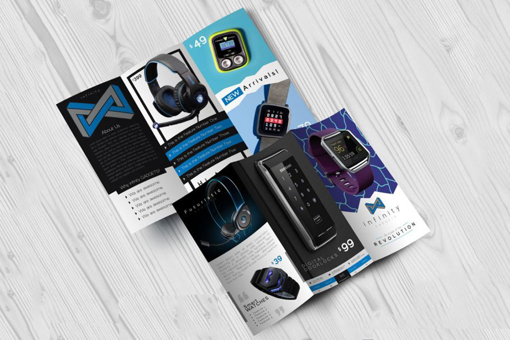 Tech Gadgets Brochure