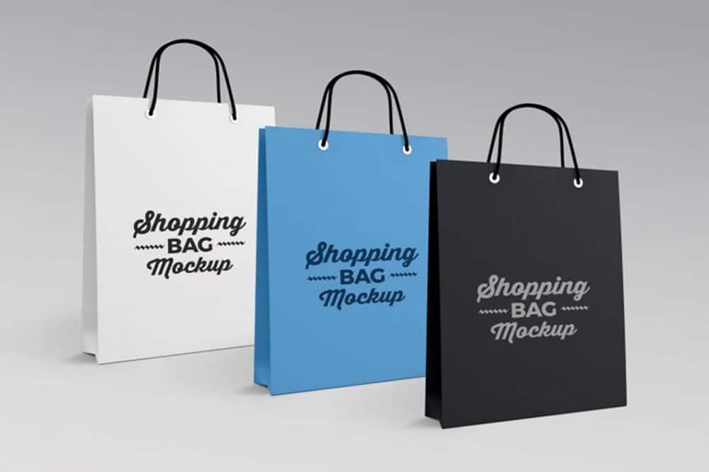 paper bag mockups